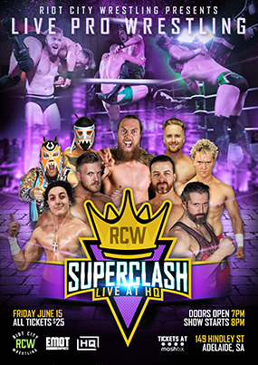 Superclash 2018 Poster